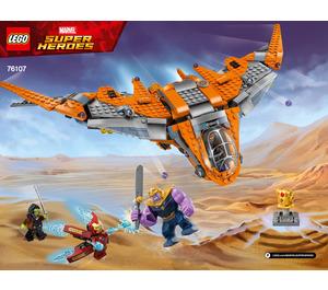 LEGO Thanos: Ultimate Battle Set 76107 Instructions