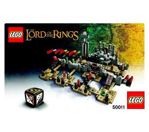 LEGO The Battle of Helms Deep Set 50011 Instructions