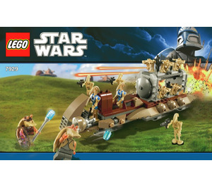LEGO The Battle of Naboo Set 7929-1 Instructions