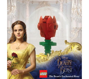 LEGO The Beast's Enchanted Rose (ROSE)