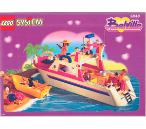 LEGO The Belville Luxury Cruiser Set 5848 Instructions