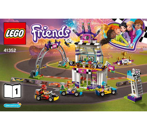 LEGO The Big Race Day Set 41352 Instructions