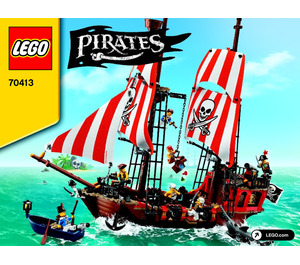 LEGO The Brick Bounty Set 70413 Instructions