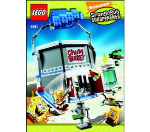 LEGO The Chum Bucket Set 4981 Instructions