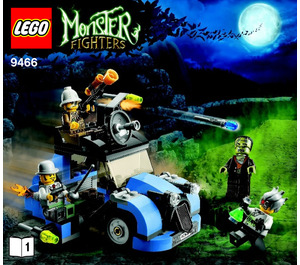 LEGO The Crazy Scientist & His Monster Set 9466 Instructions