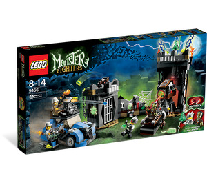LEGO The Crazy Scientist & His Monster Set 9466 Packaging