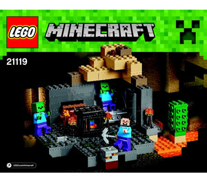 LEGO The Dungeon Set 21119 Instructions