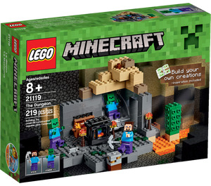 LEGO The Dungeon Set 21119 Packaging