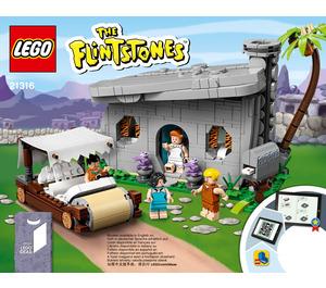 LEGO The Flintstones Set 21316 Instructions