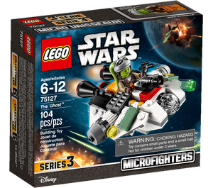 LEGO The Ghost Microfighter Set 75127 Packaging