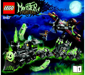 LEGO The Ghost Train Set 9467 Instructions