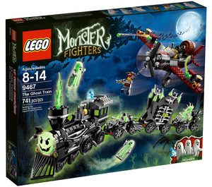 LEGO The Ghost Train Set 9467 Packaging