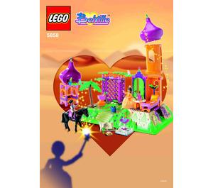 LEGO The Golden Palace Set (Blue Box) 5858-1 Instructions