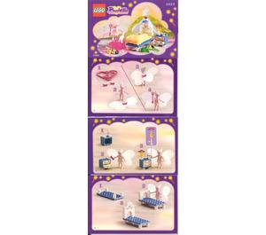 LEGO The Good Fairy's Bedroom Set 5823 Instructions