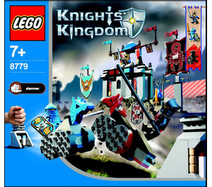 LEGO The Grand Tournament Set 8779 Instructions