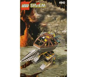 LEGO The Granite Grinder Set 4940