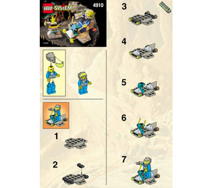 LEGO The Hover Scout Set 4910 Instructions