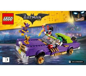 LEGO The Joker Notorious Lowrider Set 70906 Instructions