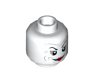 LEGO The Joker Plain Head (Recessed Solid Stud) (3626 / 68216)