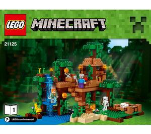 LEGO The Jungle Tree House Set 21125 Instructions