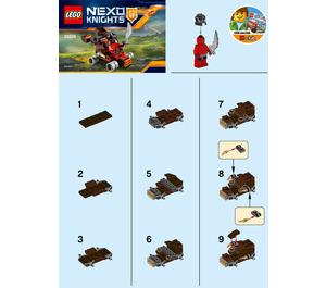 LEGO The Lava Slinger Set 30374 Instructions