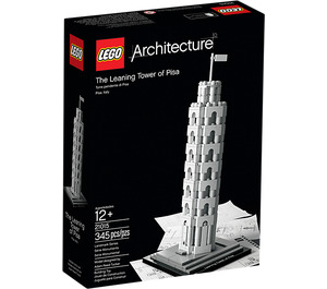 LEGO The Leaning Tower of Pisa Set 21015 Packaging