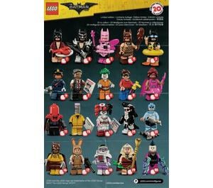 LEGO The LEGO Batman Movie Series - Random Bag Set 71017-0 Instructions