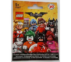 LEGO The LEGO Batman Movie Series - Random Bag Set 71017-0 Packaging