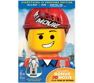 LEGO THE LEGO MOVIE Everything Is Awesome Edition (3D Blu-ray + Blu-ray + DVD + UltraViolet Combo Pack) (5004238)
