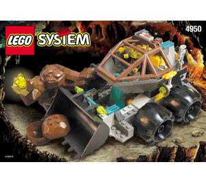 LEGO The Loader-Dozer Set 4950 Instructions