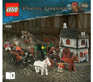 LEGO The London Escape Set 4193 Instructions