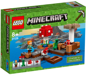 LEGO The Mushroom Island Set 21129 Packaging