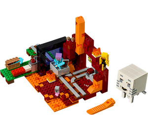 LEGO The Nether Portal Set 21143