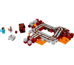 LEGO The Nether Railway Set 21130
