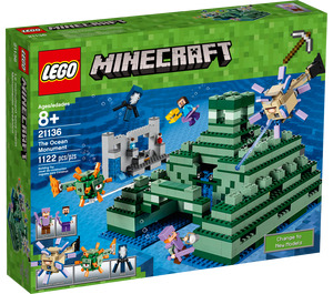 LEGO The Ocean Monument Set 21136 Packaging