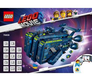 LEGO The Rexcelsior! Set 70839 Instructions
