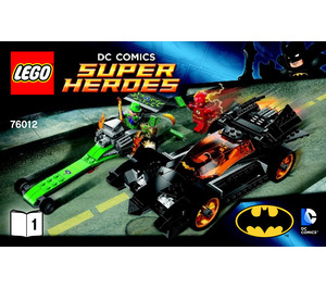 LEGO The Riddler Chase Set 76012 Instructions