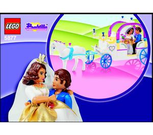 LEGO The Royal Wedding Coach Set 5877 Instructions