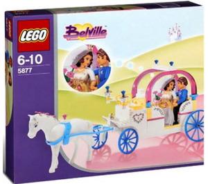 LEGO The Royal Wedding Coach Set 5877 Packaging