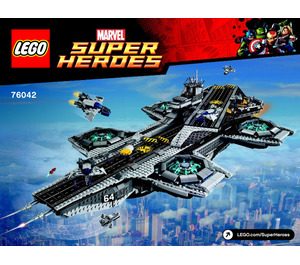 LEGO The SHIELD Helicarrier Set 76042 Instructions