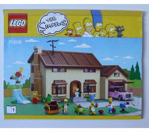 LEGO The Simpsons House Set 71006 Instructions