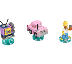 LEGO The Simpsons Level Pack Set 71202