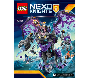LEGO The Stone Colossus of Ultimate Destruction Set 70356 Instructions