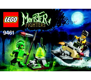 LEGO The Swamp Creature Set 9461 Instructions