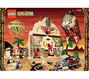 LEGO The Temple of Anubis Set 5988 Instructions