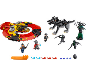 LEGO The Ultimate Battle for Asgard Set 76084