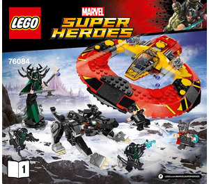 LEGO The Ultimate Battle for Asgard Set 76084 Instructions