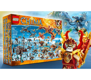 LEGO The ultimate battle for CHIMA Set BIGBOX