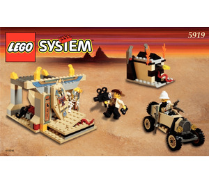 LEGO The Valley of the Kings Set 5919 Instructions