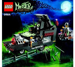 LEGO The Vampyre Hearse Set 9464 Instructions